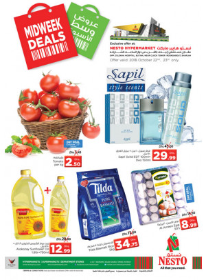 Midweek Deals - Butina