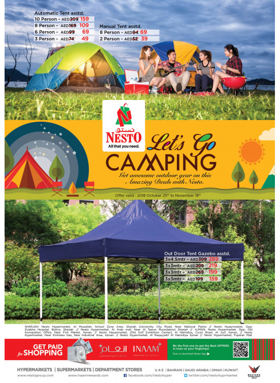 Let's Go Camping Offers