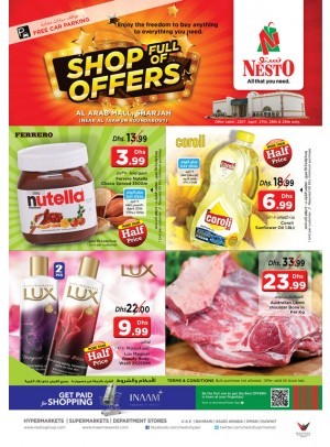 Shop full of offers at Arab Mall Sharjah