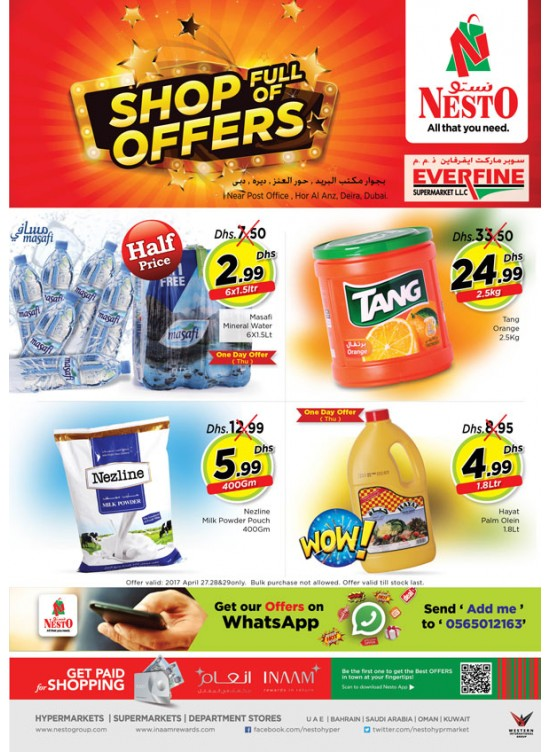 Shop Full of Offers at Everfine Dubai