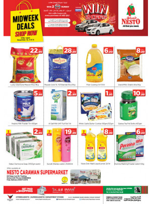 Midweek Deals - Carawan Supermarket, DIP