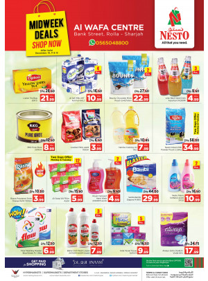 Midweek Deals - Rolla