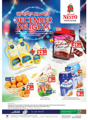 December Delights - Muweilih & Mushrif