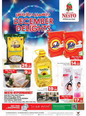 December Delights - Jafza