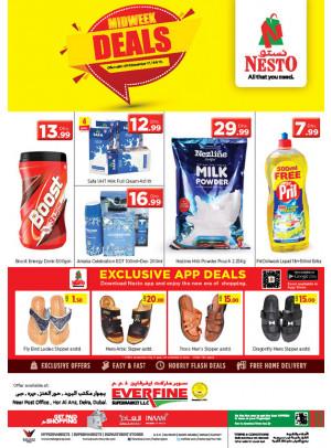 Midweek Deals - Everfine Supermarket, Hor Al Anz
