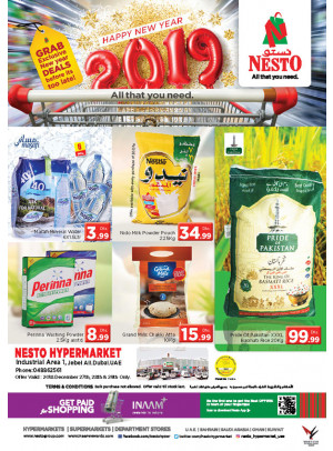 Exclusive New Year Deals - Jebel Ali