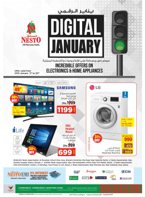 Digital January Offers