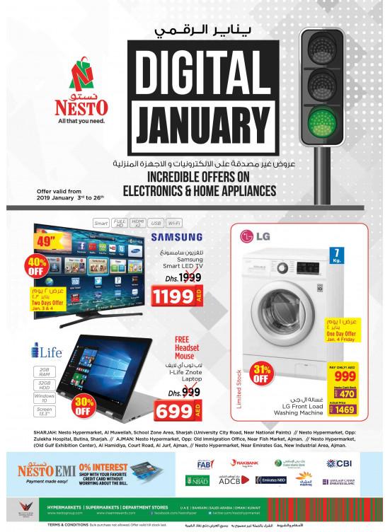 Digital January Offers