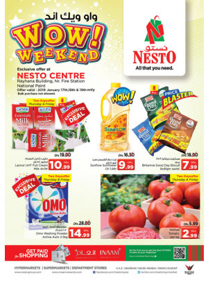 Weekend Grabs - National Paint, Sharjah