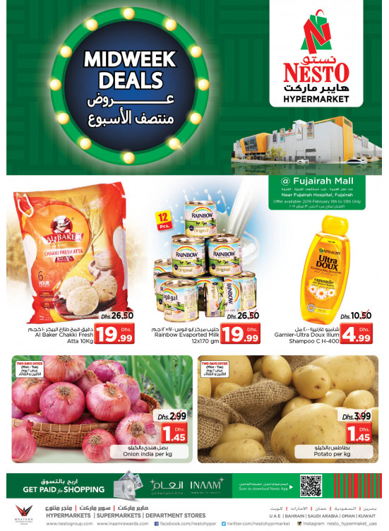 Midweek Deals - Fujairah