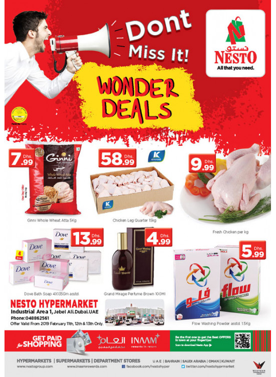 Midweek Deals - Jebel Ali