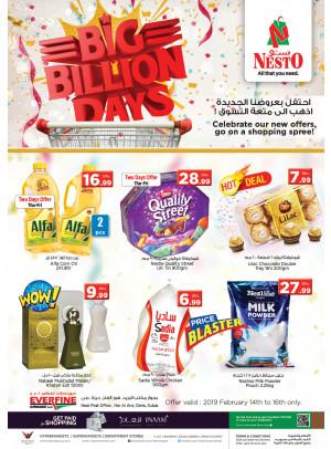 Big Billion Days - Hor Al Anz