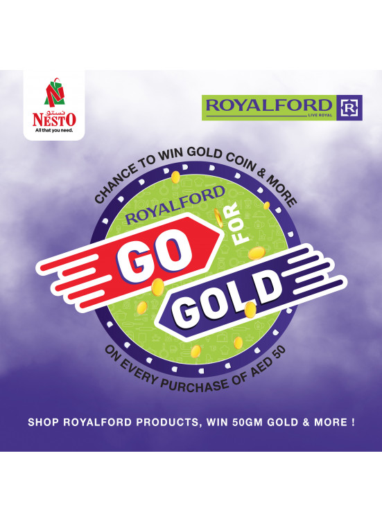 ROYALFORD - Go For Gold
