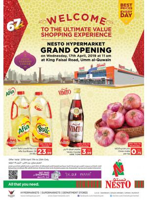 Grand Opening - Umm Al Quwain