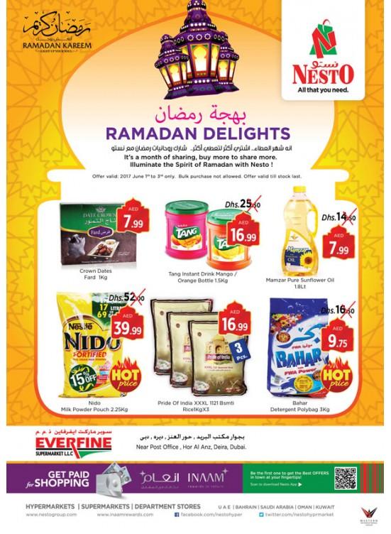Ramadan Delights - Everfine Hor Al Anz