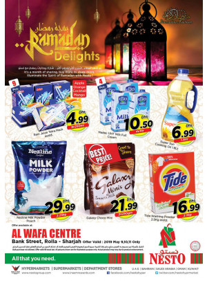 Ramadan Delights - Rolla