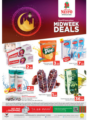 Midweek Deals - Jabel Ali