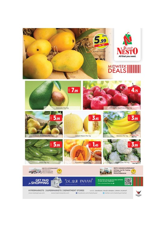 Midweek Deals - Carawan supermarket DIP