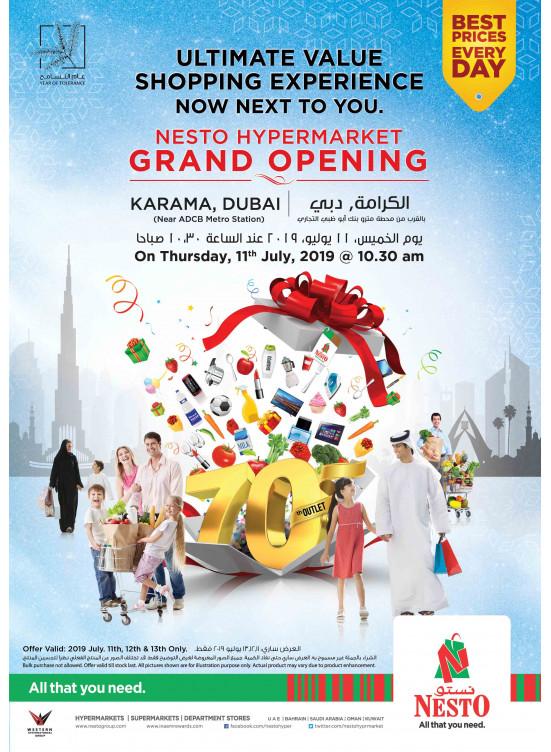 Grand Opening - Al Karama, Dubai