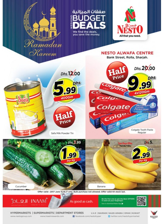 Weekend Deals - Rolla Sharjah