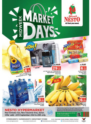 Market Days - Opp. GMC Hospital, Ajman