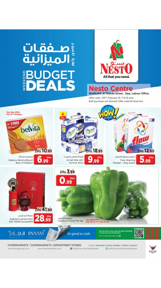 Weekend Budget Deals
