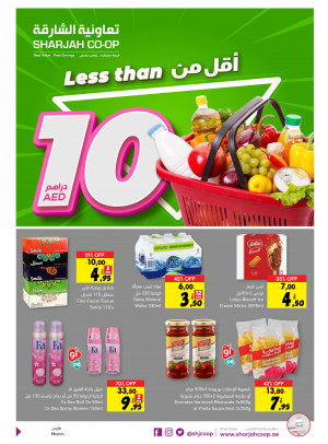 Less Than 10 AED Offers