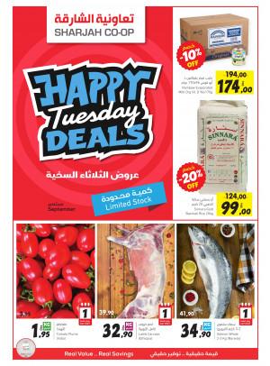 Happy Tuesday Deals
