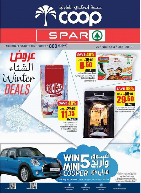 Winter Deals - Adcoops & Spar