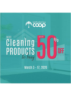 Up To 50% Off on Cleaning Products