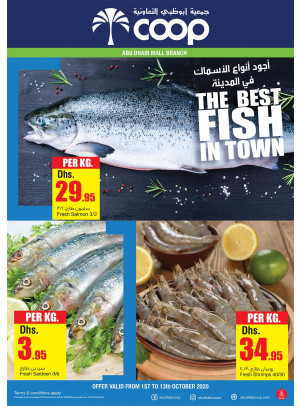 The Best Fish in Town - Abu Dhabi Mall