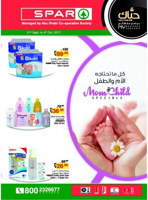 Mom & Child Specials - Spar Branches