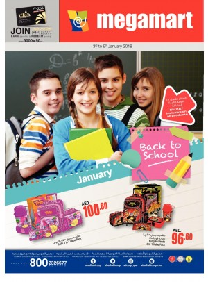 Back To School Offers - Megamart Branches