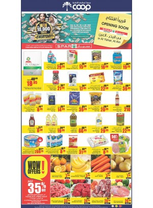 Wow Offers - 35% Off on More Products - Adcoops & Spar