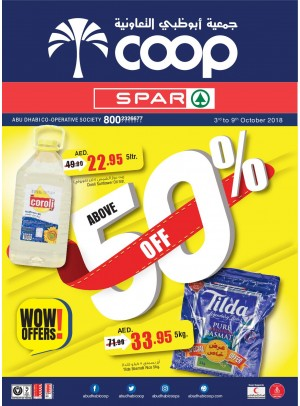 WoW Offers Above 50% Off - Adcoops & Spar Branches