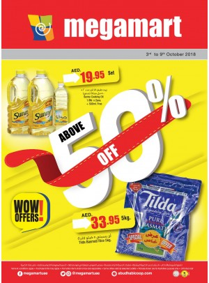 WoW Offers Above 50% Off - Megamart Branches