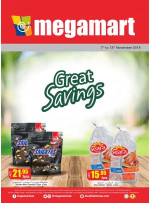 Great Savings - Megamart Branches