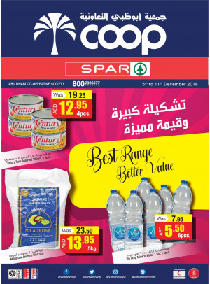 Best Range Better Value - Adcoops & Spar Branches