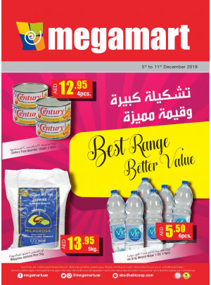 Best Range Better Value - Megamart Branches