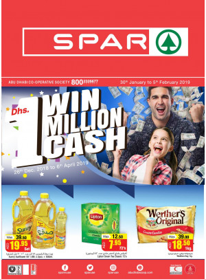 Win 1 Million AED Cash - Adcoops & Spar