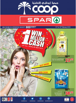 Buy More, Win Cash & Save More - Adcoops & Spar