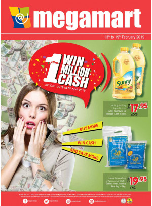 Buy More, Win Cash & Save More - Megamart