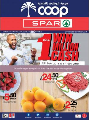 Win 1 Million Cash Offers - Adcoops & SPar