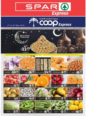 Ramadan Mubarak Offers - Spar Express & Coop Express