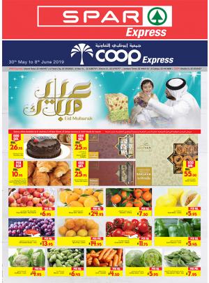 Eid Mubarak Offers - Spar Express & Coop Express