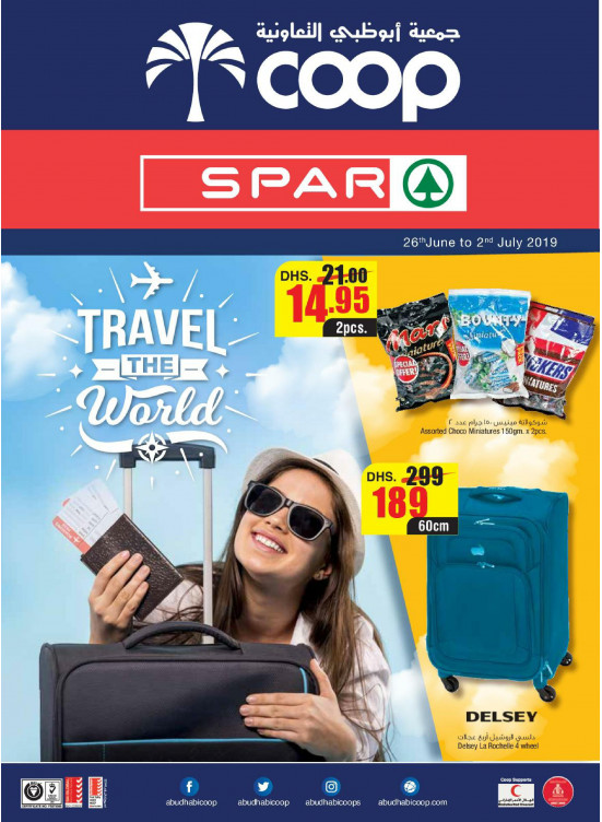 Travel The World - Abu Dhabi & Spar