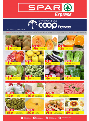 Summer Offers - Coop Express & Spar Express