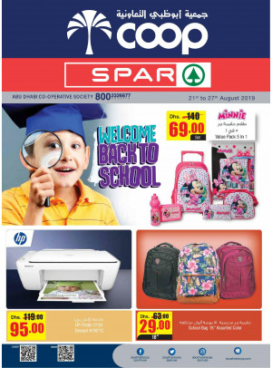 Welcome Back to School - Adcoops & Spar