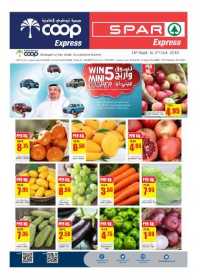 Shop & Win Offers - Coop Express & Spar Express