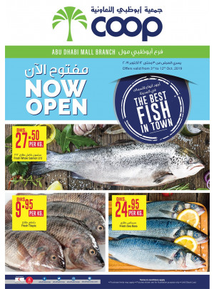 The Best Fish in Town - Abu Dhabi Mall Branch